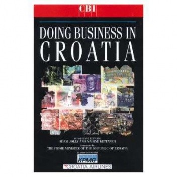 Okładka książki Doing Business in Croatia