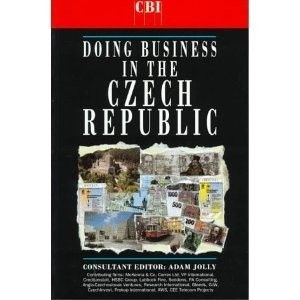 Okładka książki Doing Business in the Czech Republic