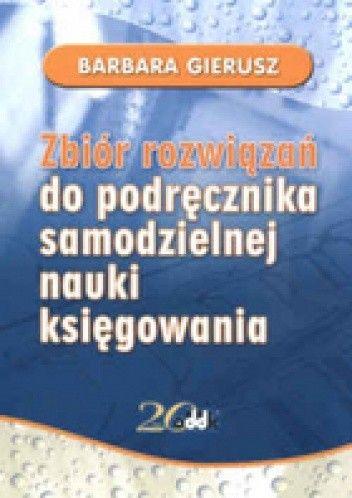 Okładka książki zbiór zadań do podręcznika samodzielnej nauki księgowania