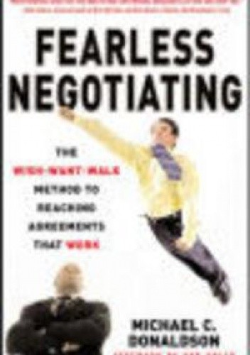 Okładka książki Fearless Negotiating
