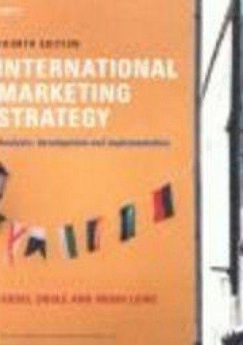 Okładka książki International Marketing Strategy