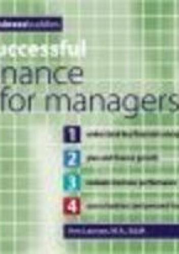 Okładka książki Successful Finance for Managers