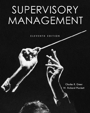 Okładka książki Supervisory Management