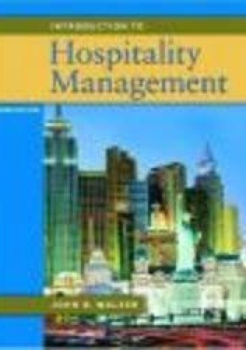 Okładka książki Introduction to Hospitality Management 2e