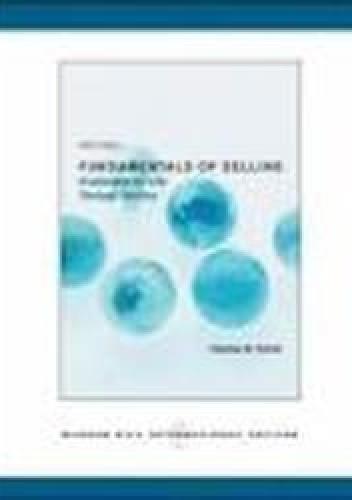 Okładka książki Fundamentals of Selling