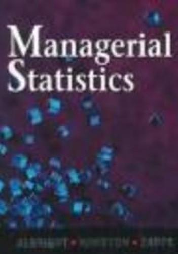 Okładka książki Managerial Statistics
