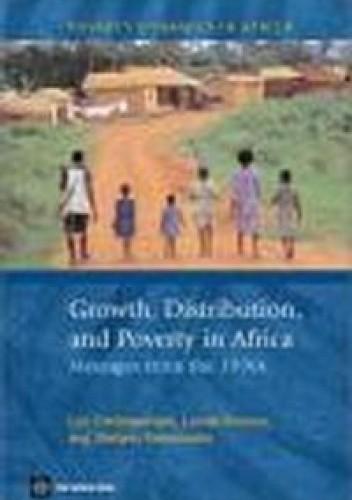 Okładka książki Growth Distribution && Poverty in Africa Messages From