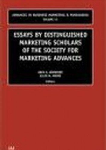 Okładka książki Essays by Distinguished Marketing Scholars of Society for M
