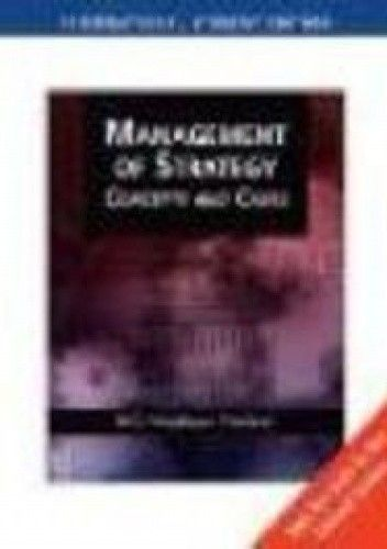 Okładka książki Management of Strategy