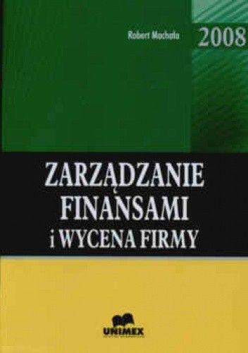 Okładka książki zarządzanie finansami i wycena firmy
