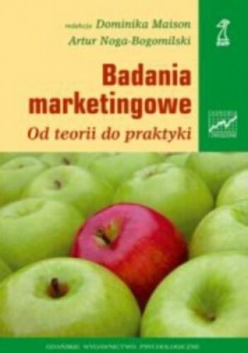 Okładka książki Badania marketingowe. Od teorii do praktyki