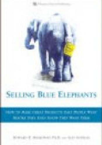 Okładka książki Selling Blue Elephants