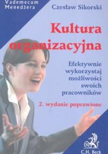 Okładka książki Kultura organizacyjna