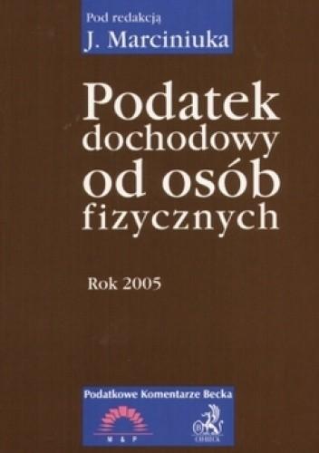Okładka książki Podatek dochodowy od osób fizycznych 2005