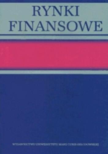 Okładka książki Rynki finansowe