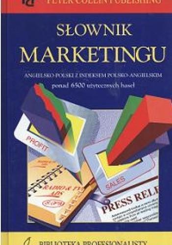 Okładka książki Słownik marketingu angielsko-polski z indeksem polsko-angielskim