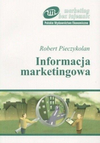 Okładka książki Informacja marketingowa