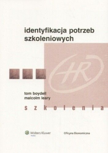 Okładka książki Identyfikacja potrzeb szkoleniowych