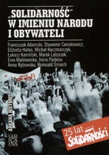 Okładka książki Solidarność w imieniu narodu i obywateli