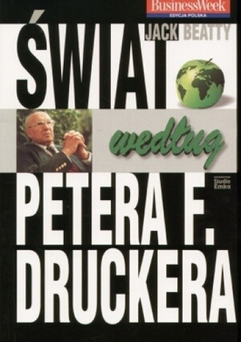 Okładka książki świat według Petera F. Druckera