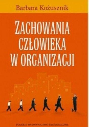 Okładka książki zachowania człowieka w organizacji