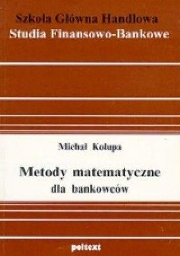 Okładka książki Metody matematyczne dla bankowców