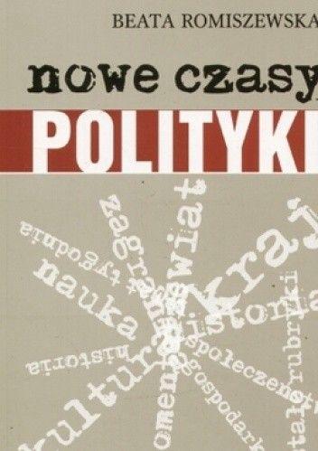 """Okładka książki Nowe czasy """"Polityki"""""""
