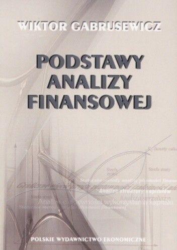 Okładka książki Podstawy analizy finansowej