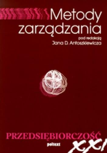 Okładka książki Metody zarządzania