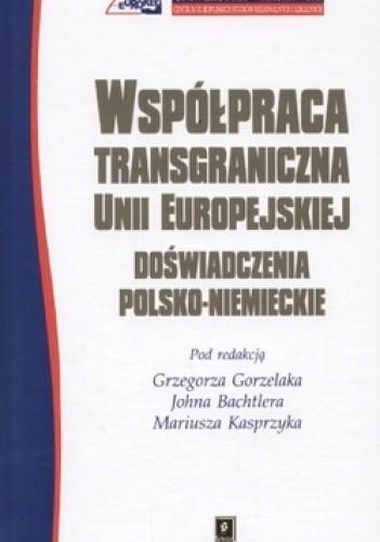 Okładka książki Współpraca transgraniczna Unii Europejskiej