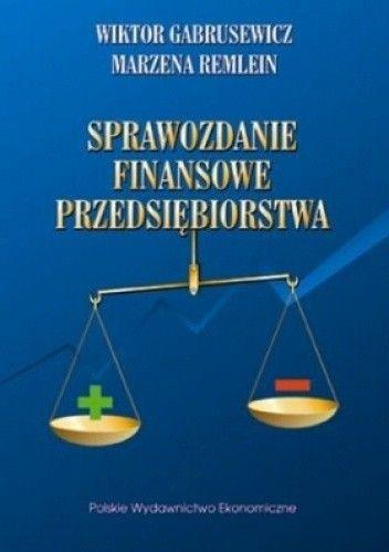 Okładka książki Sprawozdanie finansowe przedsiębiorstwa