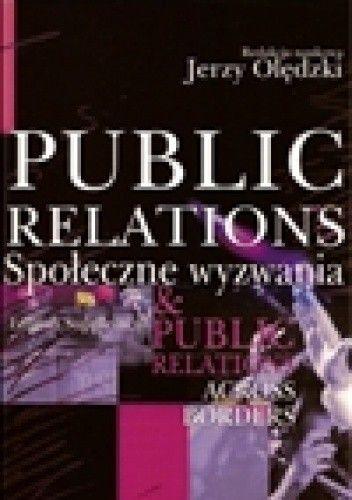 Okładka książki Public Relations. Społeczne wyzwania