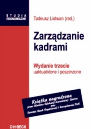 Okładka książki Zarządzanie kadrami