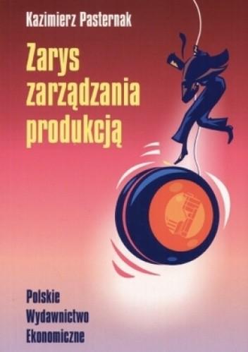 Okładka książki zarys zarządzania produkcją