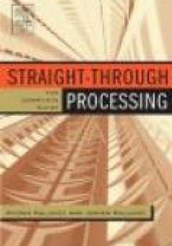 Okładka książki Straight Through Processing for Financial Services