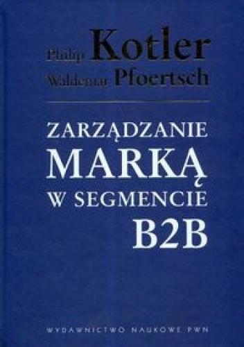 Okładka książki zarządzanie marką w segmencie B2B