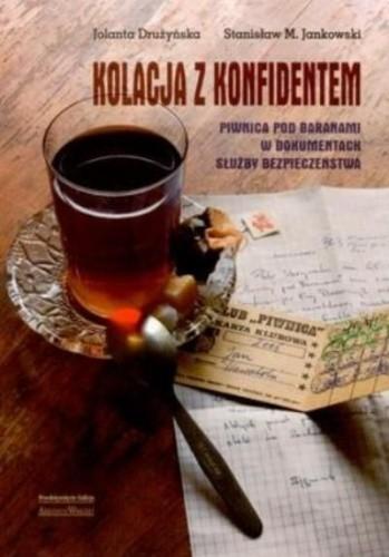 Okładka książki Kolacja z konfidentem
