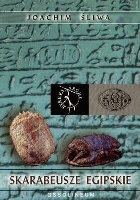 Okładka książki Skarabeusze egipskie