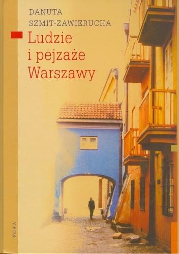 Okładka książki Ludzie i pejzaże Warszawy