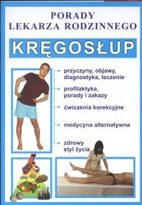 Okładka książki Kręgosłup Porady lekarza rodzinnego