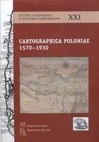 Okładka książki Cartographica Poloniae 1570-1930