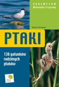 Okładka książki Ptaki Vademecum Miłośnika Przyrody Br