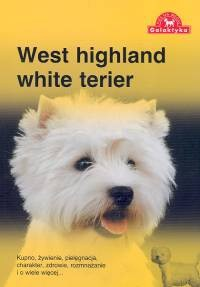 Okładka książki West highland white terier