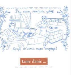 Okładka książki Tanie danie regionalne potrawy wielkopolski tw