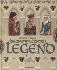 Okładka książki Wielka księga legend średniowiecznych