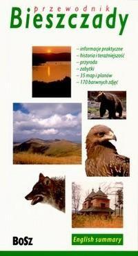 Okładka książki Bieszczady. Przewodnik