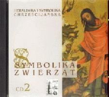 Okładka książki Symbolika zwierząt cz. 2. Heraldyka i symbolika chrześcijańska.