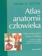 Okładka książki Atlas anatomii człowieka Nettera (nowe wydanie)