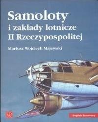 Okładka książki Samoloty i zakłady Lotnicze II Rzeczpospolitej