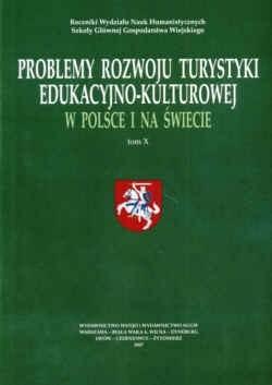 Okładka książki Problemy rozwoju turys.eduk.-kult.w pol.i na świecie T.X